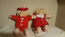 1978 1982 cabbage patch twin dolls