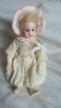 No reserve german bisque head doll