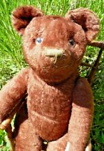 Ours ancien peluche ancienne vers