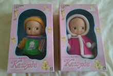 Two japanese dolls in original