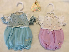2 preemie clothes doll cpk outfit