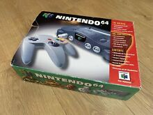 Boxed console goldeneye