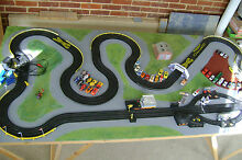 Slot car race layout 8ft x 4ft show