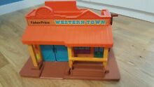 Fisher price western town 934