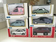 Assorted model cars toyota and
