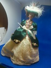 Victorian lady doll dressed in