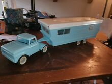 1960s ford truck mobile home camper