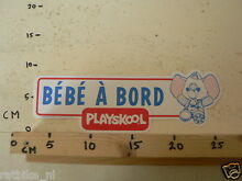 Sticker decal bebe a bord large