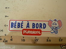Sticker decal bebe a bord large a