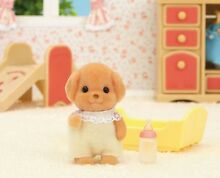 Sylvanian families toy pudel baby