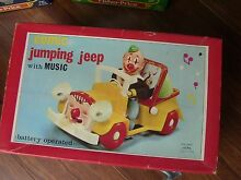 New in box comic jumping jeep music