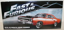 1 18 scale 18807 fast furious 1970