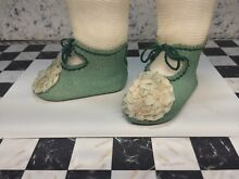 Leather doll shoes 8 cm 3 18 french