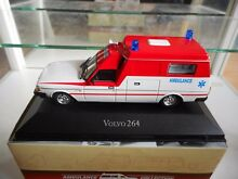 Volvo 264 ambulance in white red on