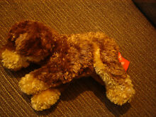 Brown dog soft toy approx 10
