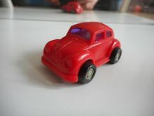 Vw volkswagen beetle in red