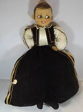 1930s 1940s cloth doll nighdress