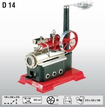 Wilesco d 14 steam engine brand new