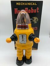 Moon robot yellow robby the robot