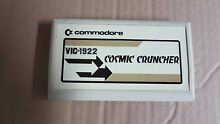 Commodore cosmic cruncher vic 20