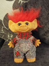 Uneed a doll coin c troll red hair