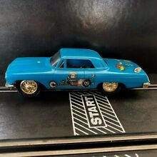 Blue chevy 1 32 scale slot cars