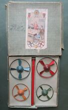 Video set germany spinning tops box