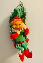 Christmas wind up musical elf plays