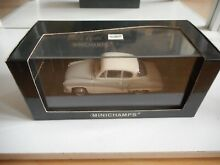 Minichamps a 312 coupe in grey