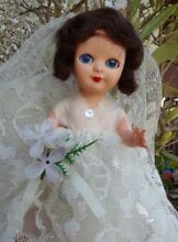 Lovely hard plastic rosebud doll