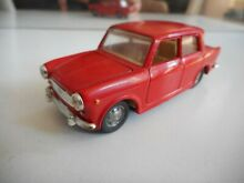 M fiat 1100 in red on 1 43