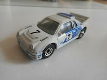 Ford rs 200 in white blue