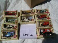 Job lot collection of 10 models of