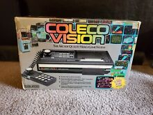 Coleco vision system console in box