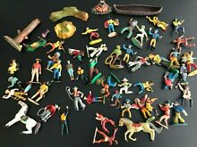 Lot figurines western diverses