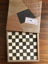 Puzzle wooden jigsaw used 10x10cm