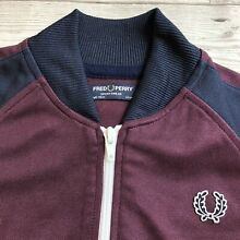 Fred perry boys bomber track jacket