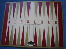 Folding set aberlour whiskey