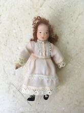 Dolls house people victorian girl