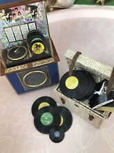 Dolls house furniture juke box and