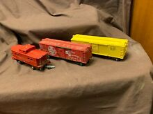 American flyer 628 caboose and 639