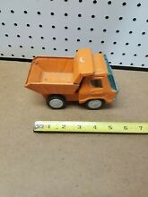 Line dump truck orange color 1970 s