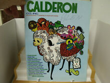 Calderon catalog 1980 84 pages impy