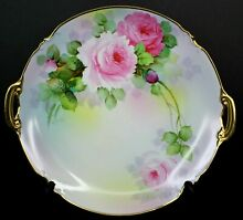 Japan hand painted pink roses