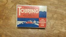 Parker bros touring card game 1937