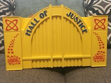 1984 kenner hall of justice dc