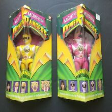 1993 mighty morphin action figures