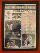 Andy 2016 olympic champion framed