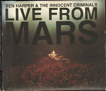 Ben live from mars 2 cd digipack 25