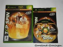 Xbox game top spin complete